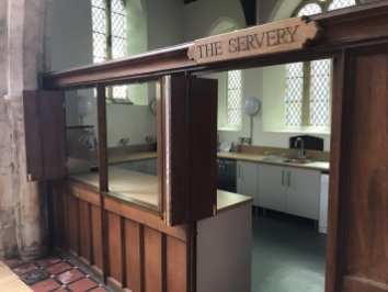 The Servery Entrance