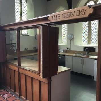 The Servery Entrance