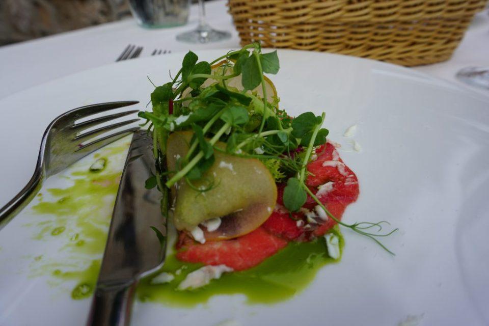Castle Bled restaurant