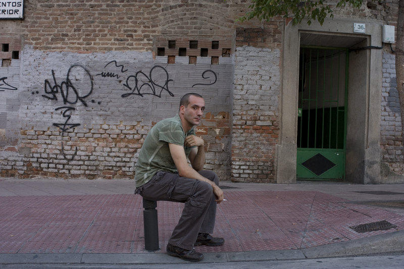 Alcobendas: Passant vor Graffiti
