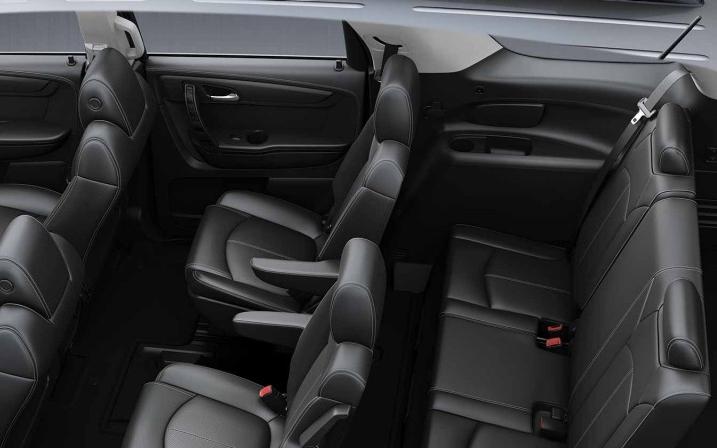Comparison GMC Acadia Limited 2017 Vs Subaru Ascent