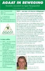 2007-03 #01 nieuwsbrief Agaat in beweging