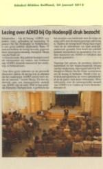 Schakel Midden-Delfland ADHD 2012