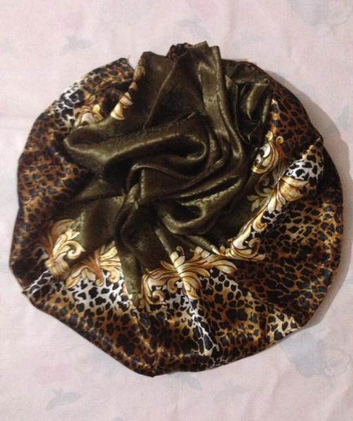 Turkish Head Wrap – Olive Brown