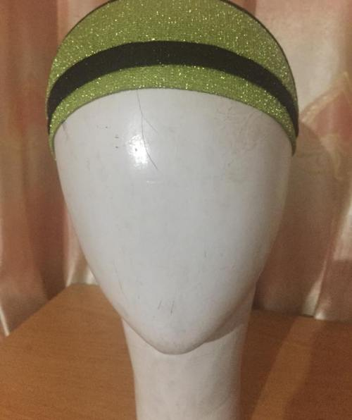 Shimmer Tie Back Bonnet – Green