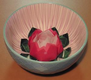 Lotus bloem als decoratie
