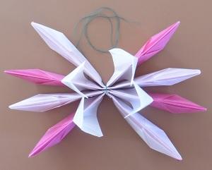Lotus bloem om en om binnen laag omhoog