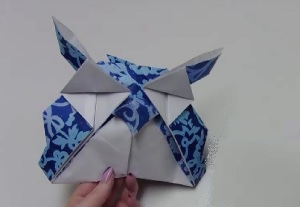 Origami zo Uil blog