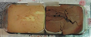 Smaken verschillen 2 soorten cake in de vorm