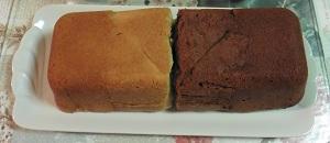 Smaken verschillen 2 soorten cake uit een vorm