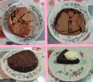 Chocolade taart met eiwit intro