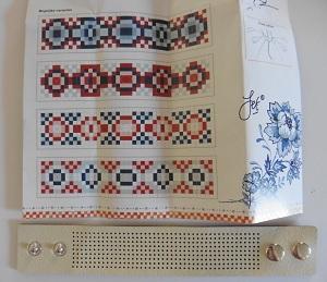 Borduurarmband 2de armdand + patronen