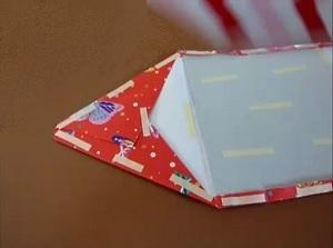 Envelop maken karton beplakken