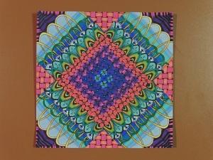 Twinmarkers doodle paper klaar