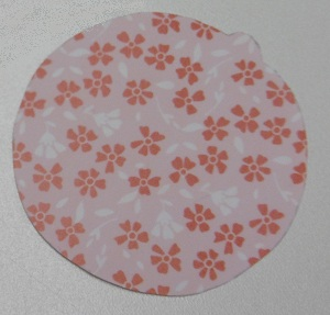 Schutkaart baby rammelaar washi tape rond