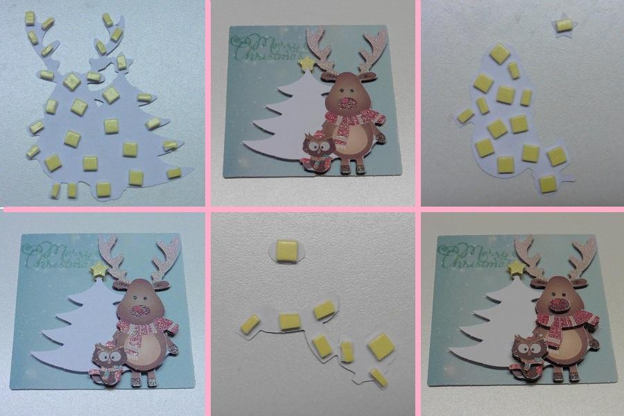 3d-kerstkaarten-action-hert-3d-plakken