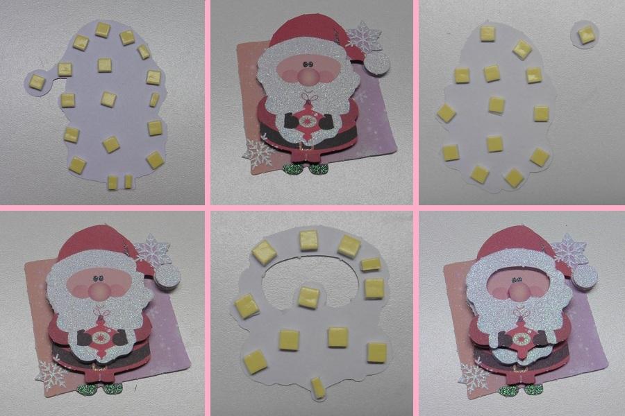 3d-kerstkaarten-action-kerstman-3d-plakken