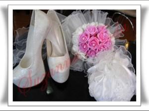 Gelin Çİçeği ,Kesesi , Ayakkabısı