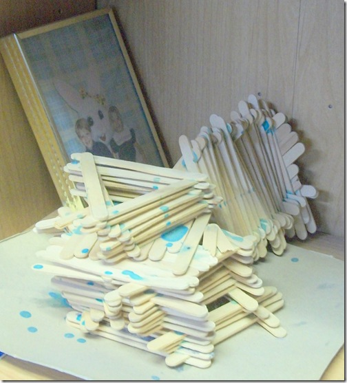 Popsicle Sticks and Easter Bunny Naples and More