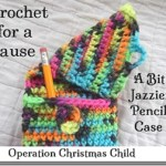A Bit Jazzier Pencil Case for Operation Christmas Child