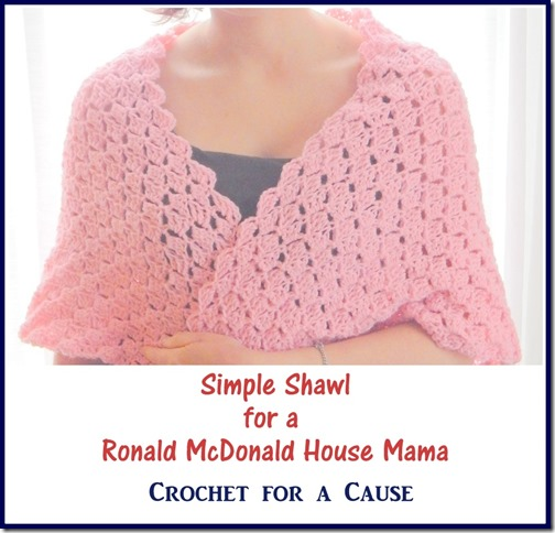 Simple Shawl for RMH