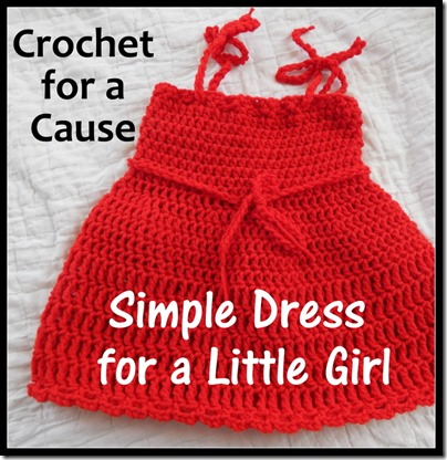 Crochet for a Cause Simple Dress