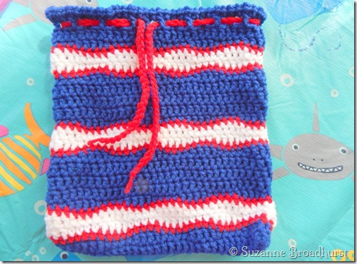 Ditty Diaper Bag in Waves Stitch