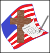 Cross Flag and Pen