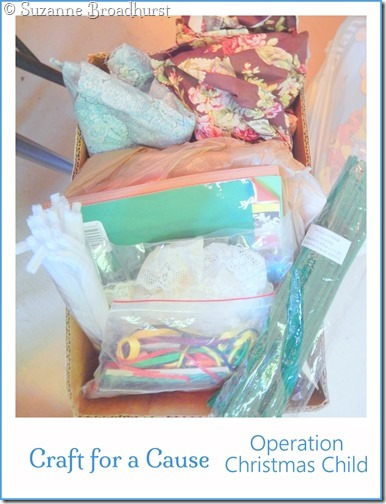 Craft Supplies for Operation Christmas Child
