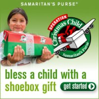 Bless a Child with a Shoebox Gift