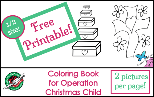 2 Free Printable Coloring Books Operation Christmas Child Weekly