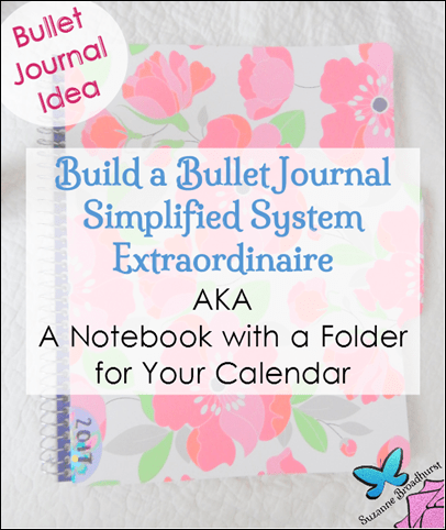 Build a Bullet Journal with a Pocket Folder