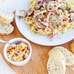 pasta recept voor sporters