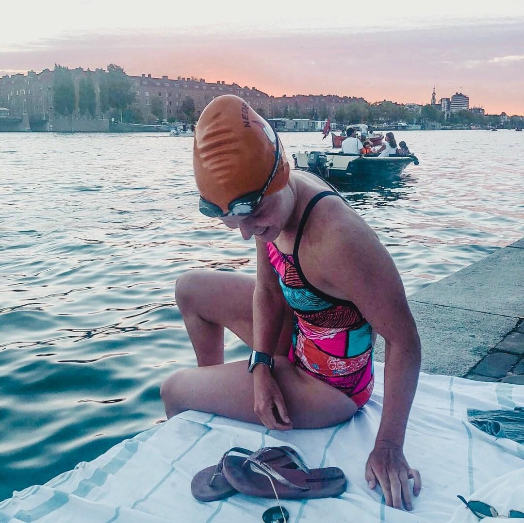 zwemmen in de amstel