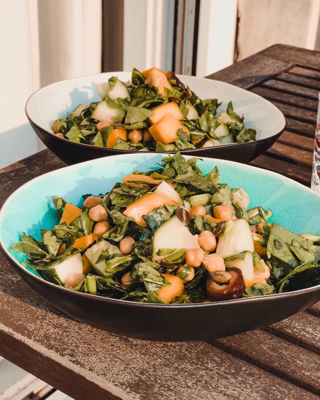 vegan salade