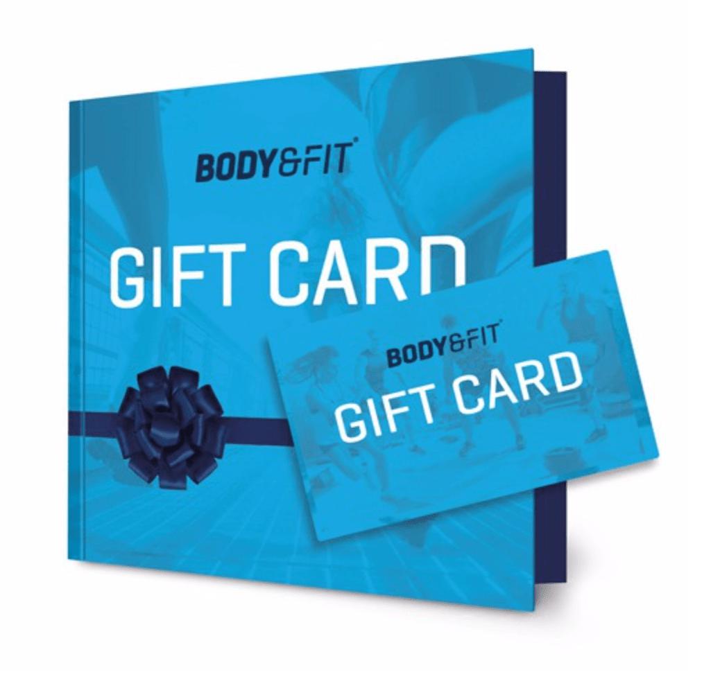 body&fit cadeaukaart