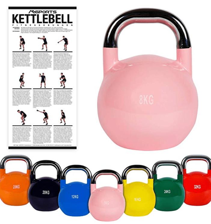 kettlebel set