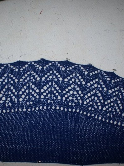 I might have made a lace shawl