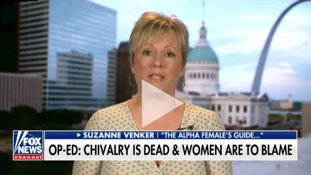 Suzanne Venker Fox And Friends Chivalry Is Dead