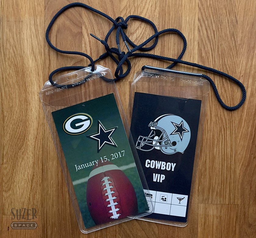 House Divided: Packers vs. Cowboys Faux Credential
