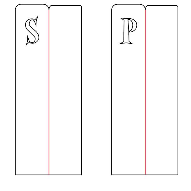 The basic design for initial bookmarks