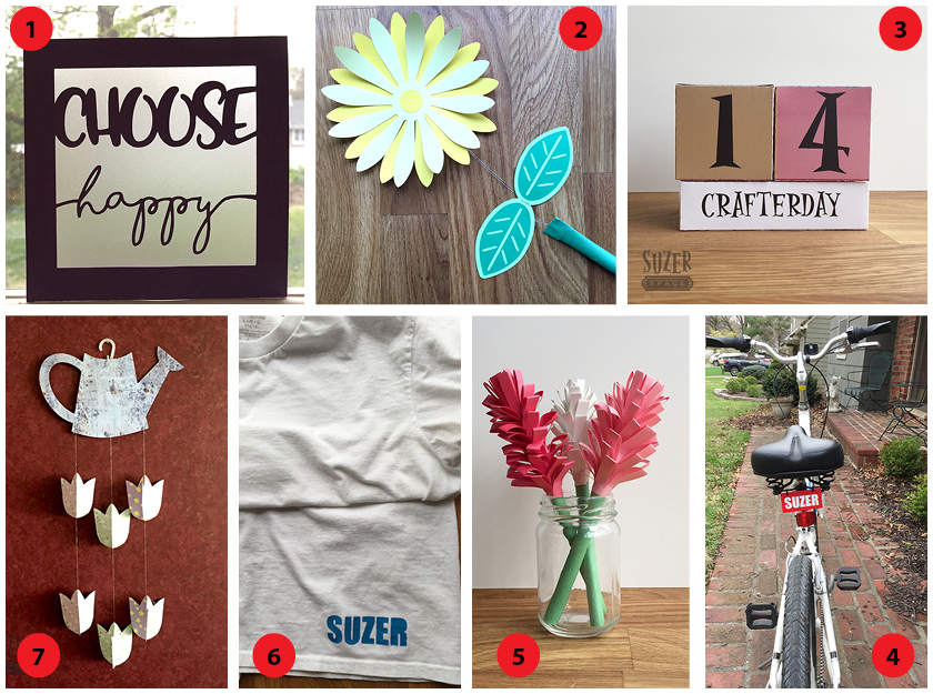 First Friday - April Craft Roundup | suzerspace.com
