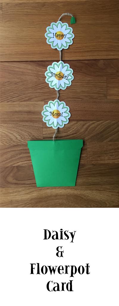 Daisy Flowerpot Birthday Card | suzerspace.com