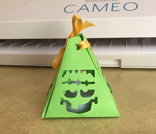 Frankenstein paper lantern