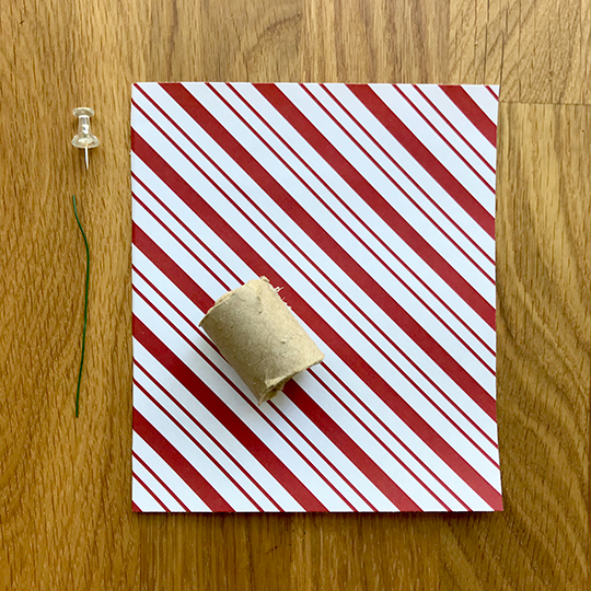 Paper Peppermint Candy Ornament Suzerspace