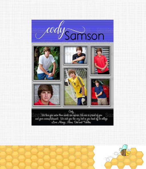 Full Page Yearbook Ad Cody Samson