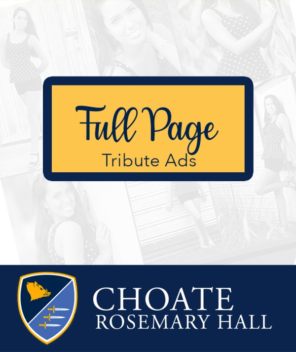 Choate Full Page Ads
