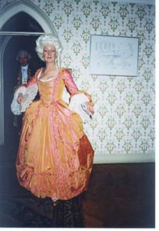 1776 dress at Strawberry Hill