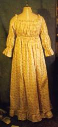 1790 chemise dress in lawn
