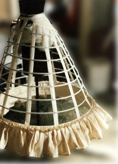 Cage Crinoline, 1860